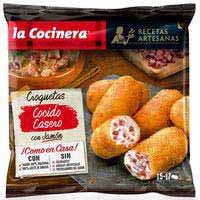 La Cocinera Receptes Artesanes Croquetes olla pernil serrà 500g