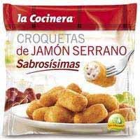 La Cocinera Croquetas de Jamón Serrano sabrosísimas 500g