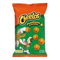 Cheetos pelotazos Aperitiu blat de moro formatge s/gluten 130g