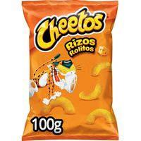 Cheetos rizos Aperitivo de maíz horneado con sabor a queso 100g