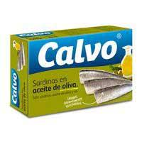 Calvo Sardinas aceite oliva 115g
