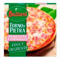 Pizza forno di Pietra Prosciutto i Formaggio BUITONI 360g