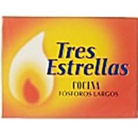 Tres Estrellas Cerillas cocina pack 3 cajas