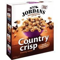 Jordans Cereales Country chocolate 375g