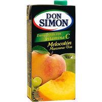 Don Simón Zumo de melocotón/uva brik 1l