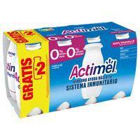 Actimel L.casei natural desnatat Danone 6x100ml
