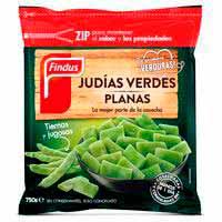 Findus Judia verde plana 750g