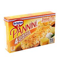 Dr. Oetker Pannini 4 quesos 250g