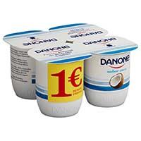 Danone Iogurt sabor coco 4x125g