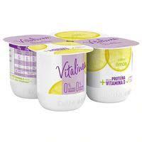 Danone Vitalinea Yogur de limón desnatado 4x125g