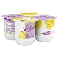 Vitalinea Iogurt de pinya desnatat DANONE, 4x120g