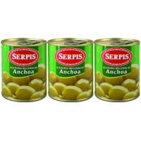 Serpis Olives farcides 3x50g