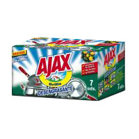 Ajax Estropajo jabonoso 7u