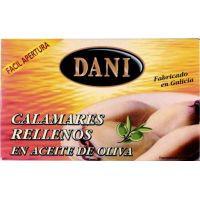 Dani Calamares rellenos en aceite de oliva 111g