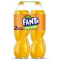 Fanta Naranja botella 2x2l