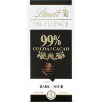 Lindt Chocolate Excellence cacao 99% 50g