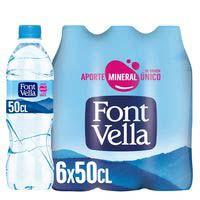 Font Vella agua mineral natural 6x50cl