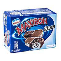 Nestlé Sandwich mini Maxibon nata 6u 510ml