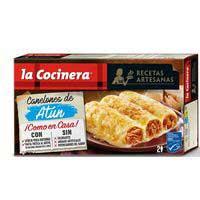La Cocinera Recetas Artesanas Canelones de atún 530g