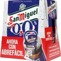 Sant Miquel Cervesa 0,0% ampolla 6x25cl