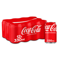 Coca Cola Normal llauna pack 12x33cl