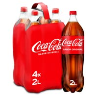 Coca Cola Normal ampolla pack 4x2l