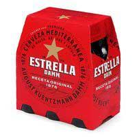 Estrella Damm Cerveza botella 6x25cl