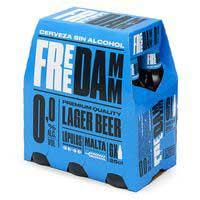 Free Damm Cerveza 0,0% botella 6x25cl