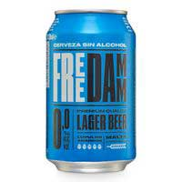 Free Damm Cervesa 0,0% llauna 33cl