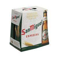 San Miguel Cerveza botella 6x25cl