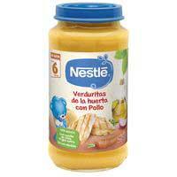 Nestlé Potet verduretes de l'hort amb pollastre 250g