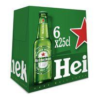 Heineken Cervesa ampolla 6x25cl