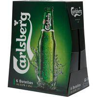 Carlsberg Cerveza botella 6x25cl