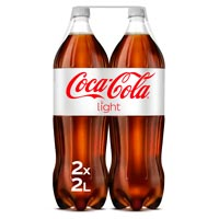 Coca Cola Light botella pack 2x2l