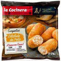 La Cocinera Receptes Artesanes Croquetes estofat pollastre 500g