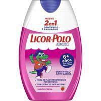 Dentifrici júnior 2en1 LICOR DEL POL, pot 75 ml