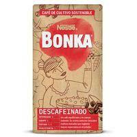 Café molido descafeinado BONKA, paquete 250 g + 10%