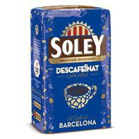 Soley Café molido descaf. natural 250g