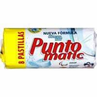 Puntomatic Detergent pastilla 4 ren. 8 pastilles