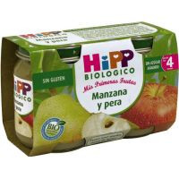 Hipp Tarrito manzana/pera 2x125g