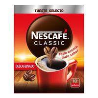 Nescafé Classic Descafeinado - Café Soluble 2g