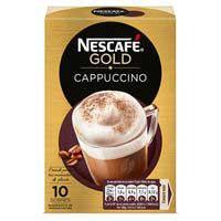 Cafe cappuccino soluble natural 10u NESCAFE 140g