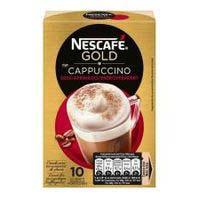 Cafè cappuccino descafeïnat NESCAFÉ Gold, caixa 10 sobres