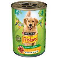 Friskies Menjar gos pollastre llauna 800g