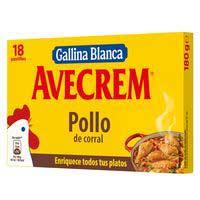Avecrem Caldo pollo 18 pastillas 189g