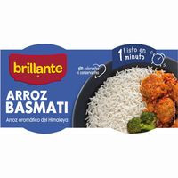 Brillante Vasitos Arroz basmati 2x125g