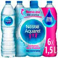 Nestlé Aquarel Agua botella 6x1,5l