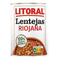 Litoral Llenties Riojanas 430g