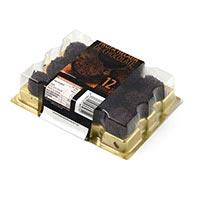 Eroski Seleqtia Trufes xocolata Belga 144g