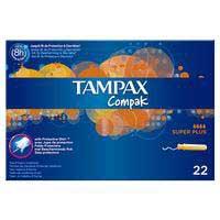 Tampax Tampó superplus Compak 24u